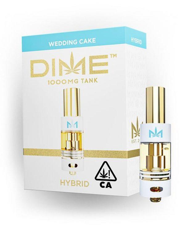 DIME DISPOSABLES 1 GRAM - WEDDING CAKE